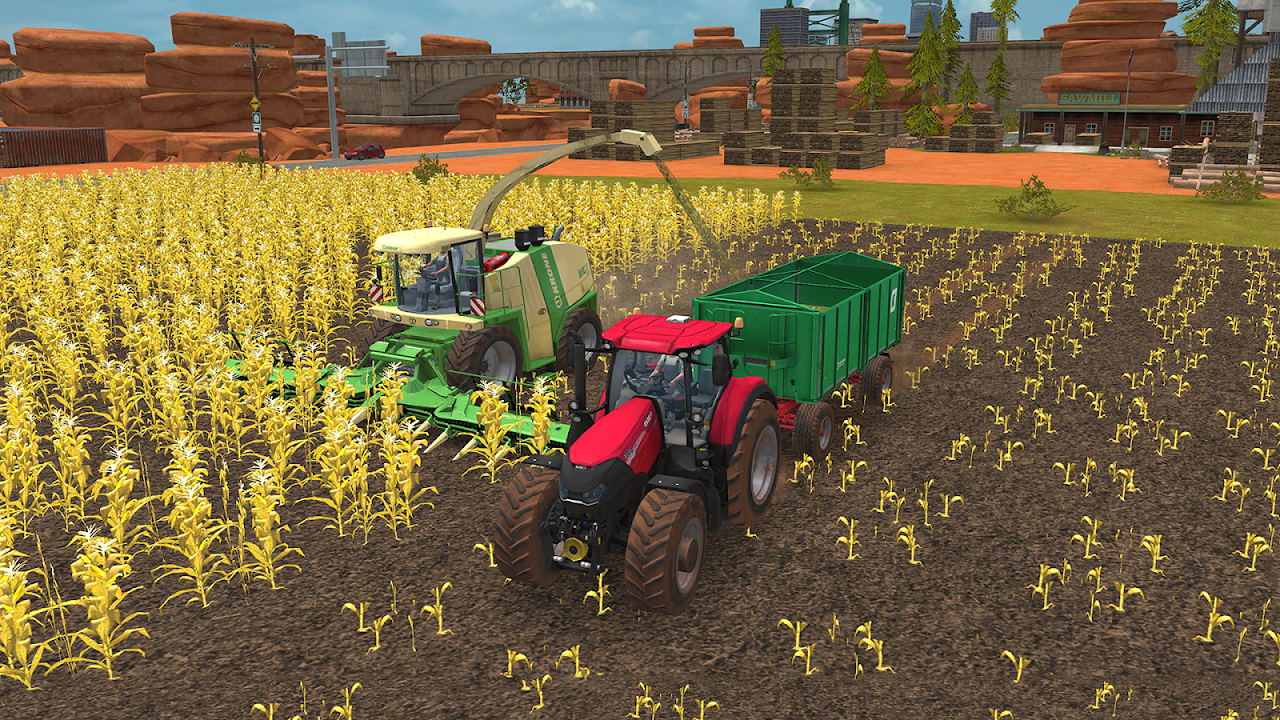 Android Farming Simulator 18 Screen 8