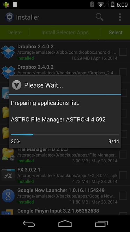 Installer Pro 3.4.2 Screen 3