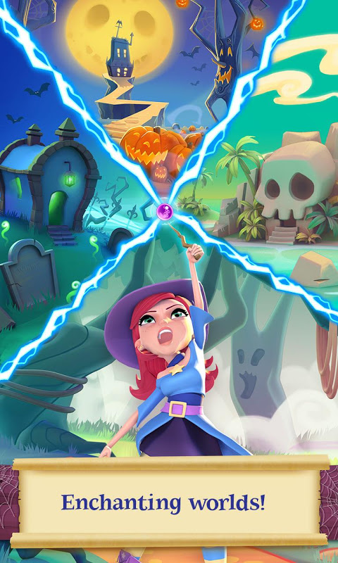 Android Bubble Witch 2 Saga Screen 2