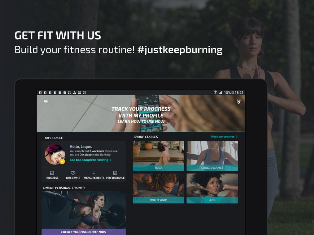 Android BTFIT - Personal Trainer Online, Fitness and Yoga Screen 11