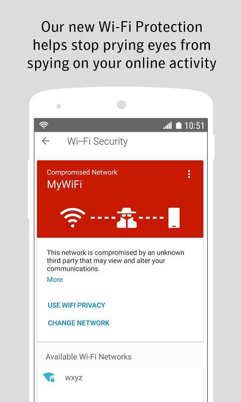 Norton Security and Antivirus 4.4.0.4302 Screen 2