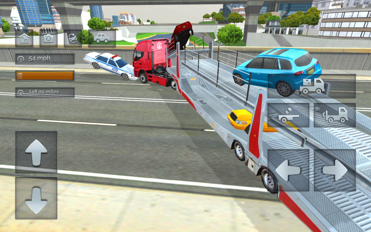 Android Truck Driver Simulator Pro Screen 1