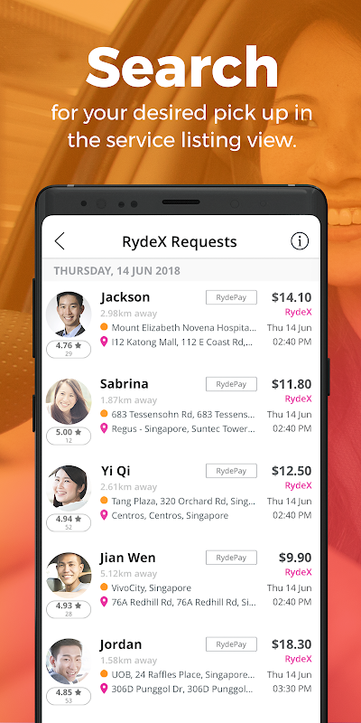 Ryde Driver 1.0.50 Screen 2