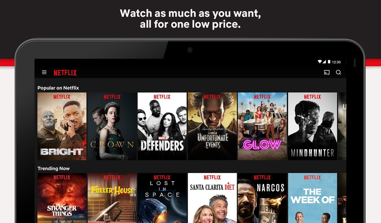 Netflix 6.21.0 build 12 31615 Screen 1