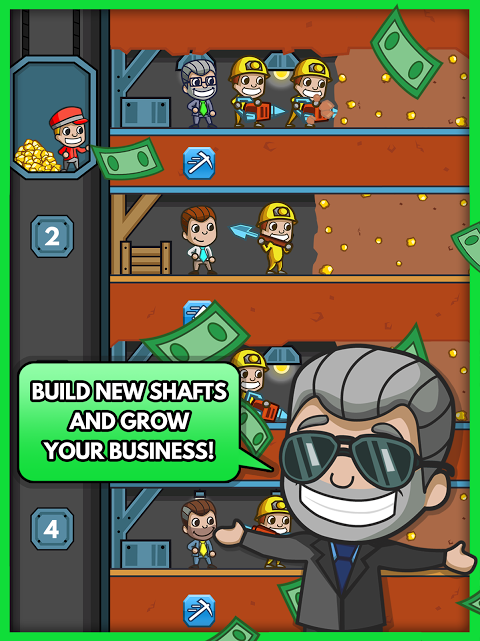 Android Idle Miner Tycoon Screen 11