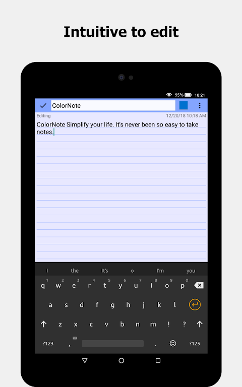 ColorNote Notepad Notes To do 4.1.0 Screen 14