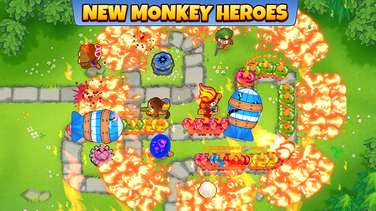 Android Bloons TD 6 Screen 1