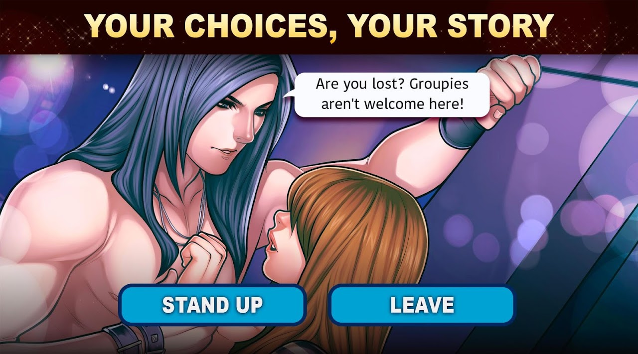 Android Is-it Love? Colin: Choose your story - Love & Rock Screen 11