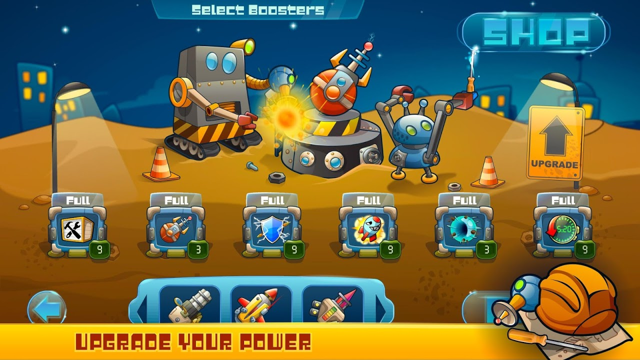 Android Galactic Missile Defense Screen 4