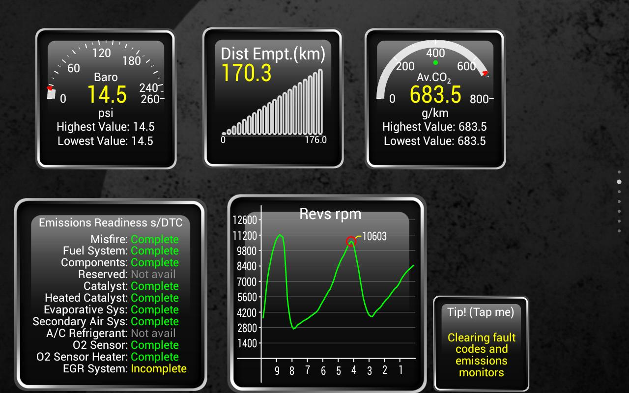 Android Torque Pro (OBD 2 & Car) Screen 9