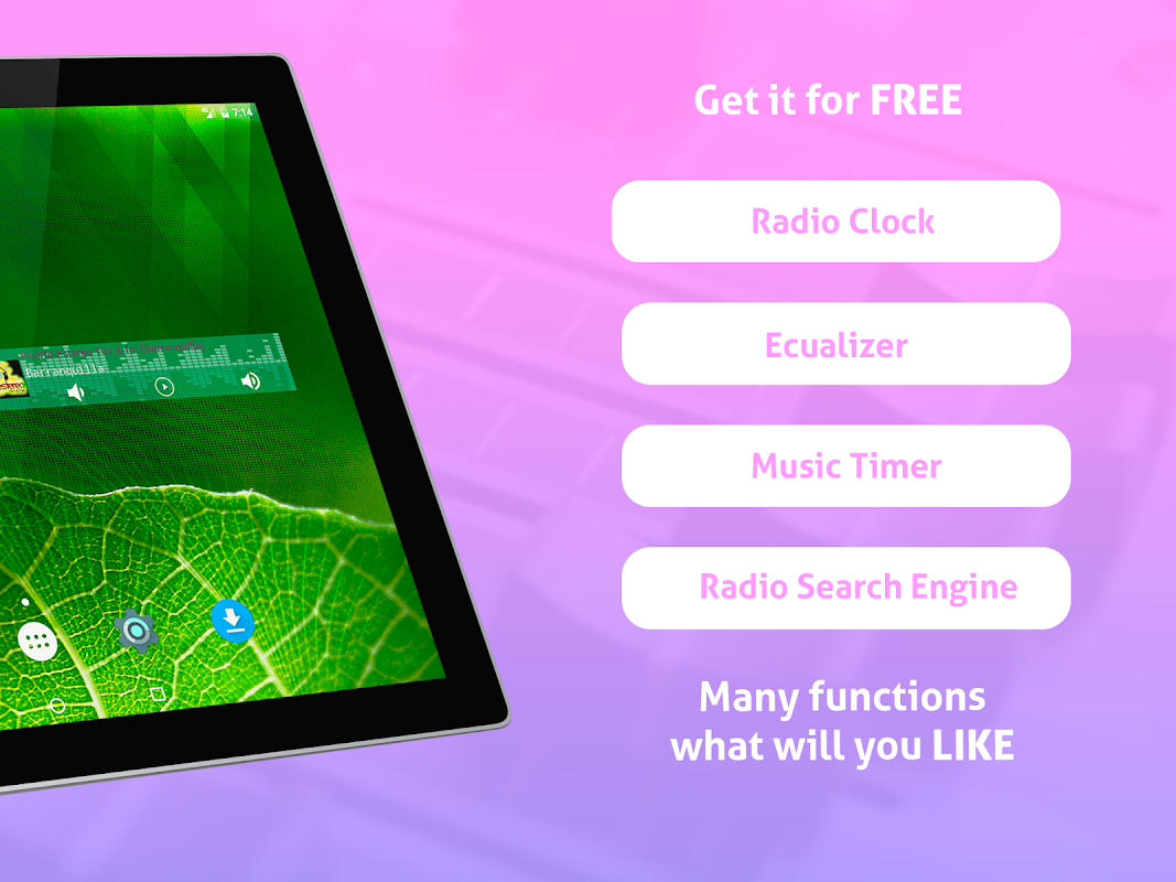 Android Free Colombia Radio AM FM Screen 8