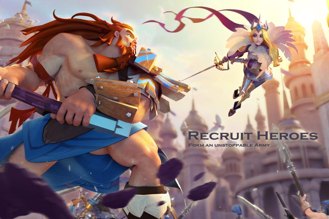 Android Art of Conquest (AoC) Screen 1