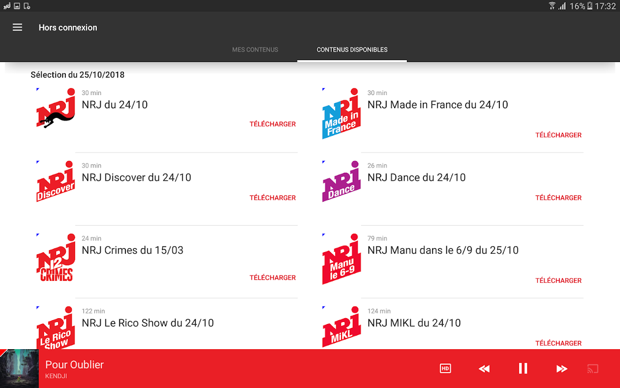 NRJ Radios 4.5.1 Screen 12