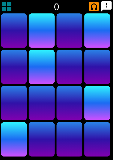 Android Musical Pad Screen 1