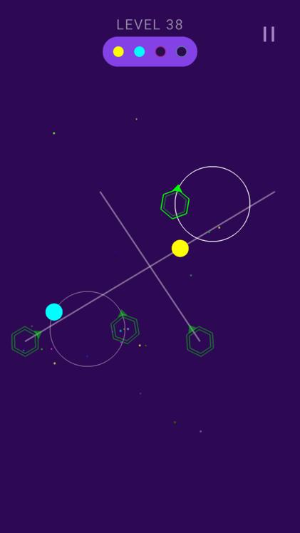 Android Galaxy Balls Screen 5