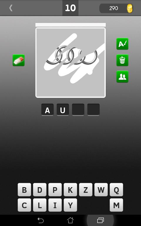 Android Scratch Car Logos Quiz Screen 6