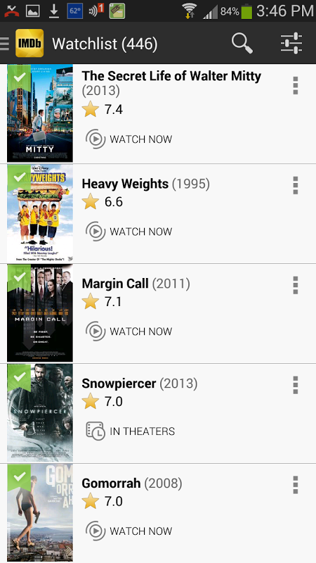 IMDb Movies & TV 2.3.2a Screen 5