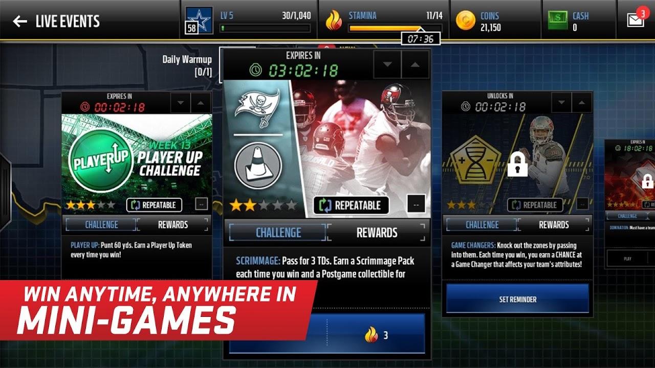 Madden NFL Mobile 3.8.3 Screen 8