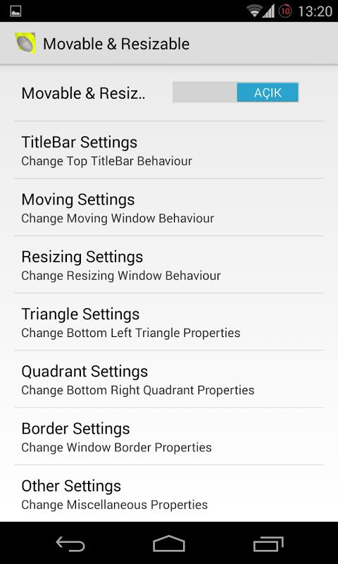 XHALO FLOATING WINDOW - XPOSED APKs | Android APK