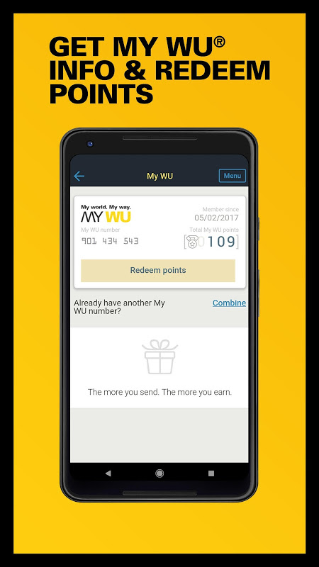Western Union US - Send Money Transfers Quickly 6.0 Screen 7