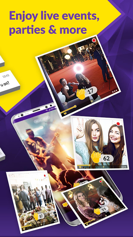 Android Swoo - Live Video Streaming and Broadcast App Screen 4