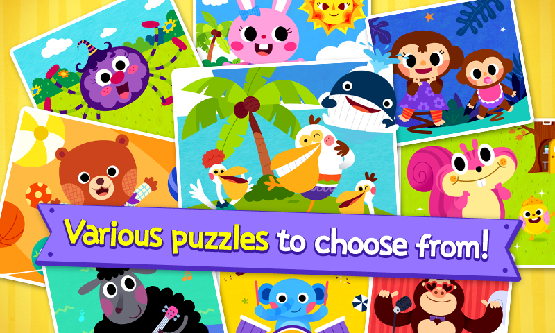 PINKFONG Kids Puzzle Fun 9 Screen 4