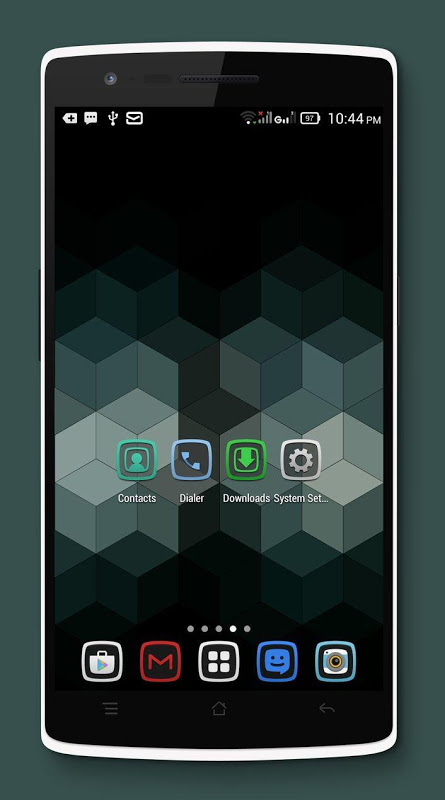 Android Tembus - Icon Pack Screen 1