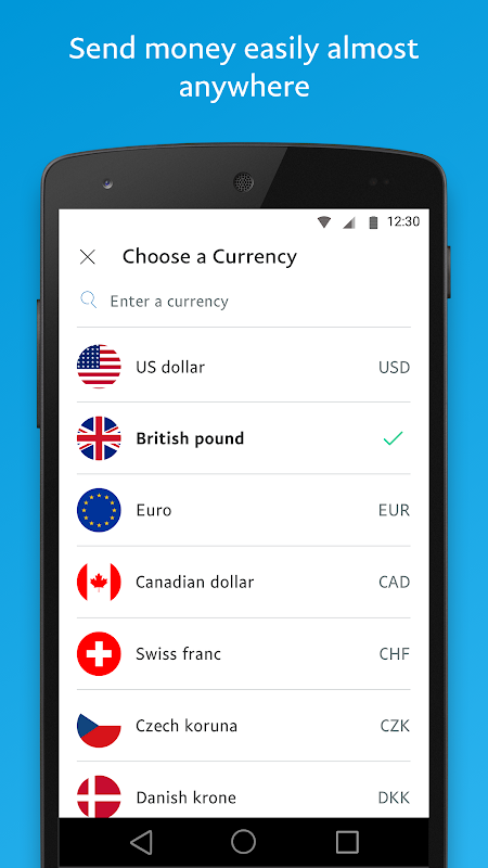 PayPal 7.2.0 Screen 2