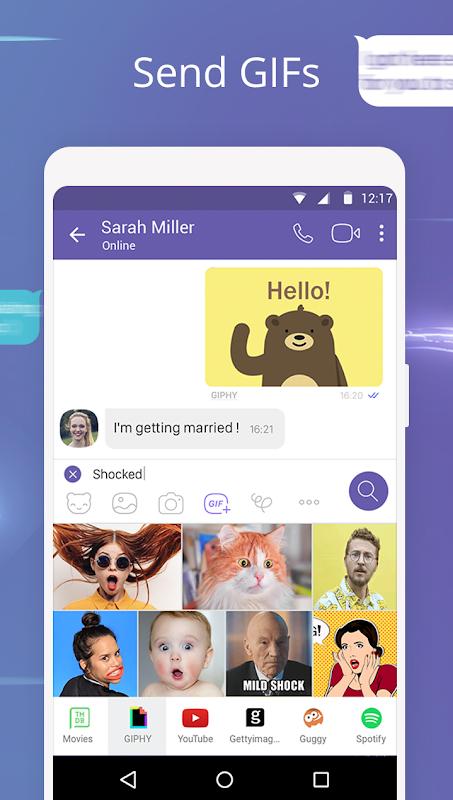 Android Viber Messenger Screen 6