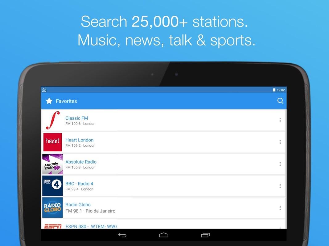 Simple Radio - Free Live FM AM Radio & Music 2.6.2 Screen 5