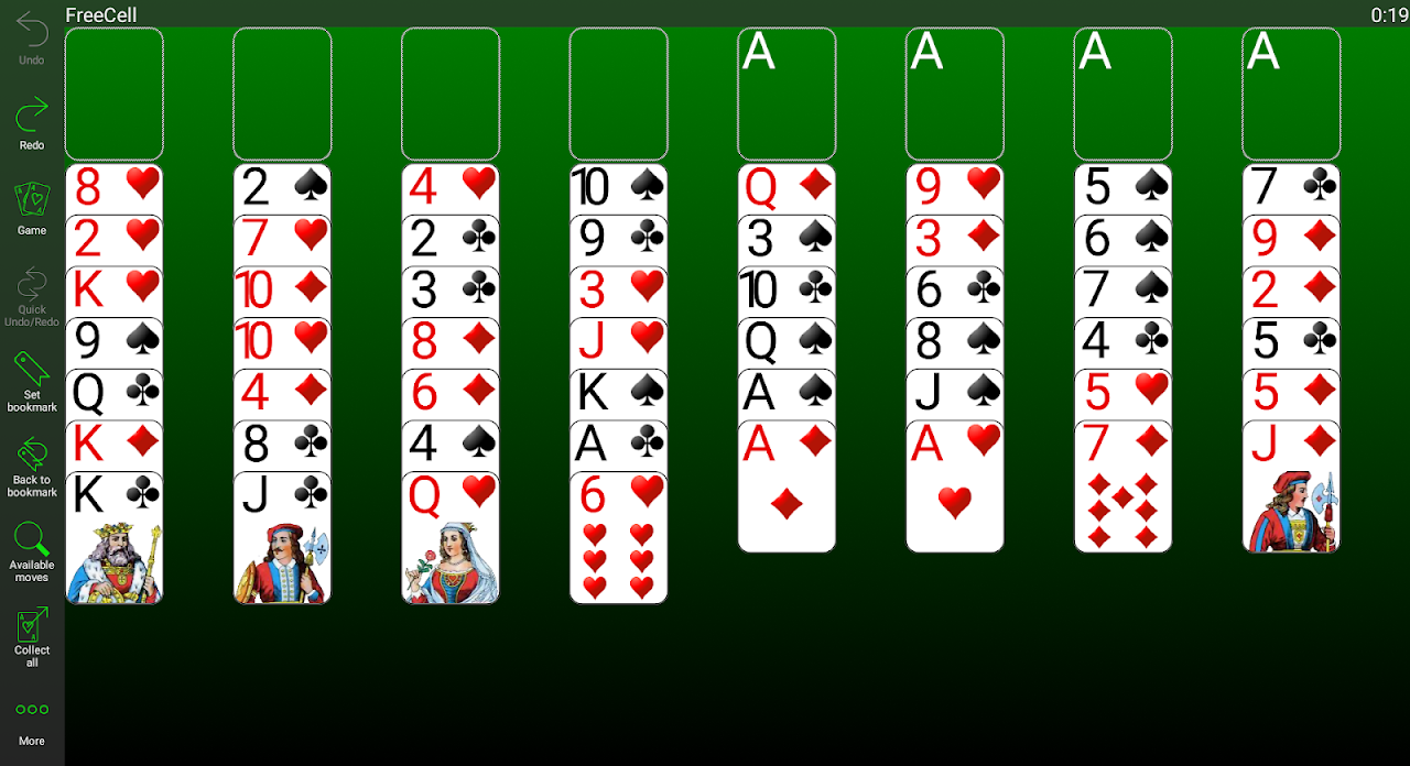 250+ Solitaire Collection 4.12.1 Screen 2