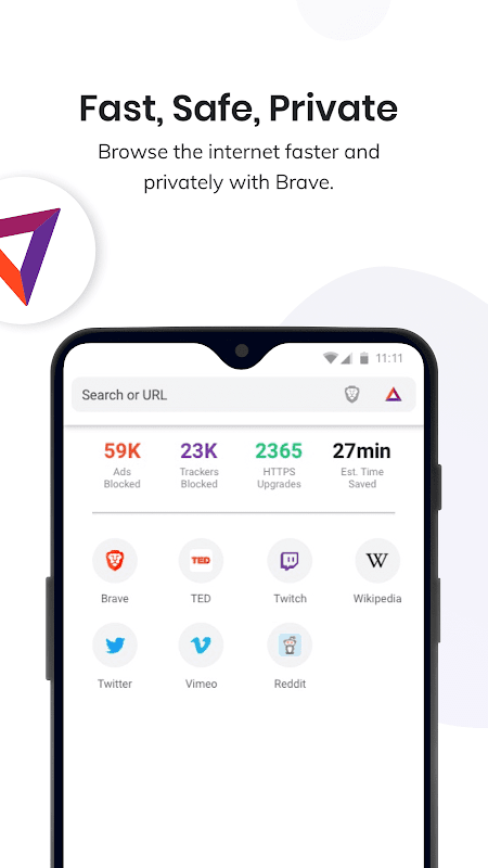 Brave Privacy Browser: Fast, safe, private browser 1.4.3 Screen 9