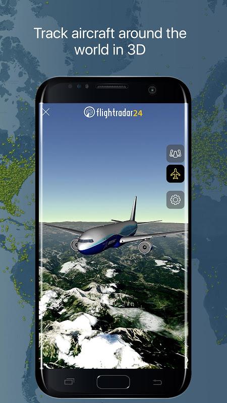 Android Flightradar24 Flight Tracker Screen 10