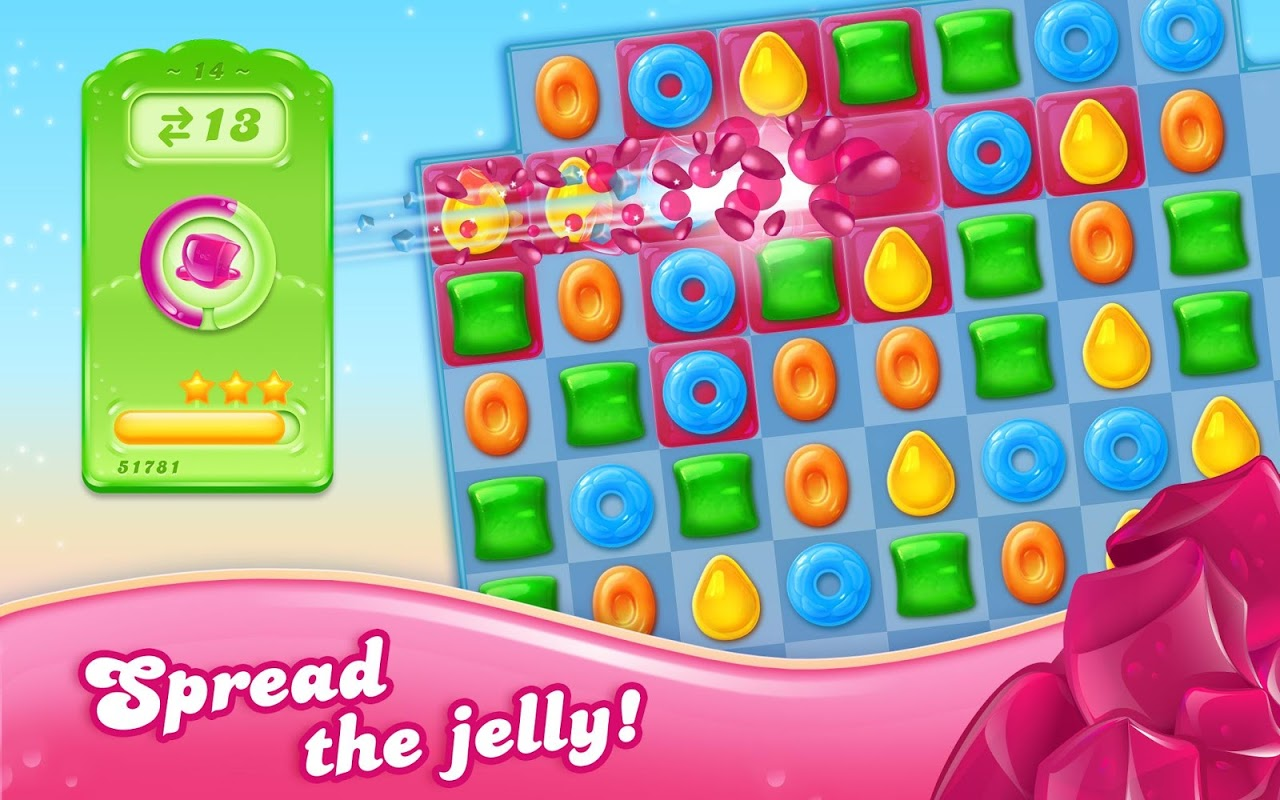 Android Candy Crush Jelly Saga Screen 5