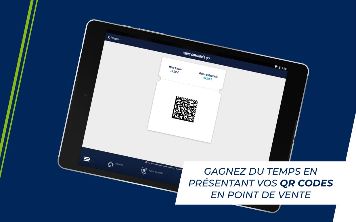 Android ParionsSport Point De Vente® Screen 8