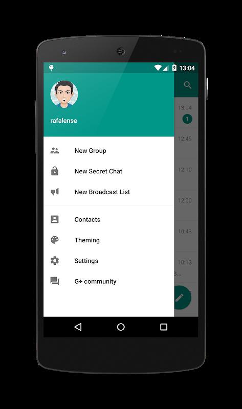 Plus Messenger 5.9.0.0 Screen 3