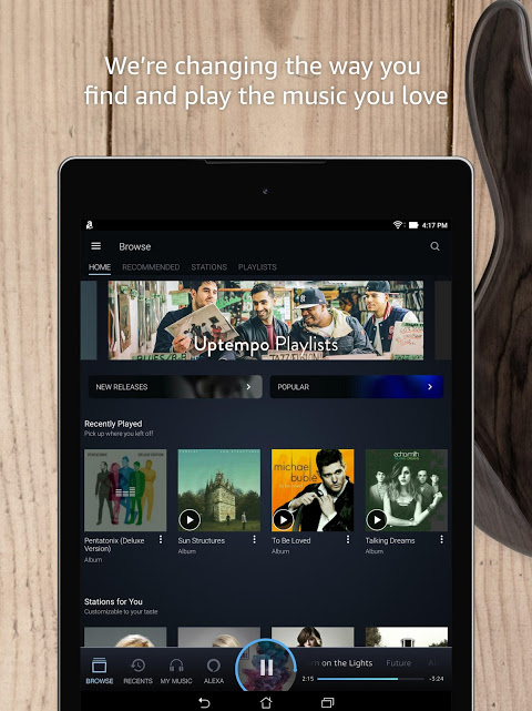 Amazon Music 7.8.4_307080410 Screen 9