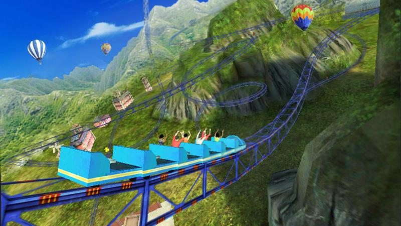 Roller Coaster 3D 1.0.3 Screen 7