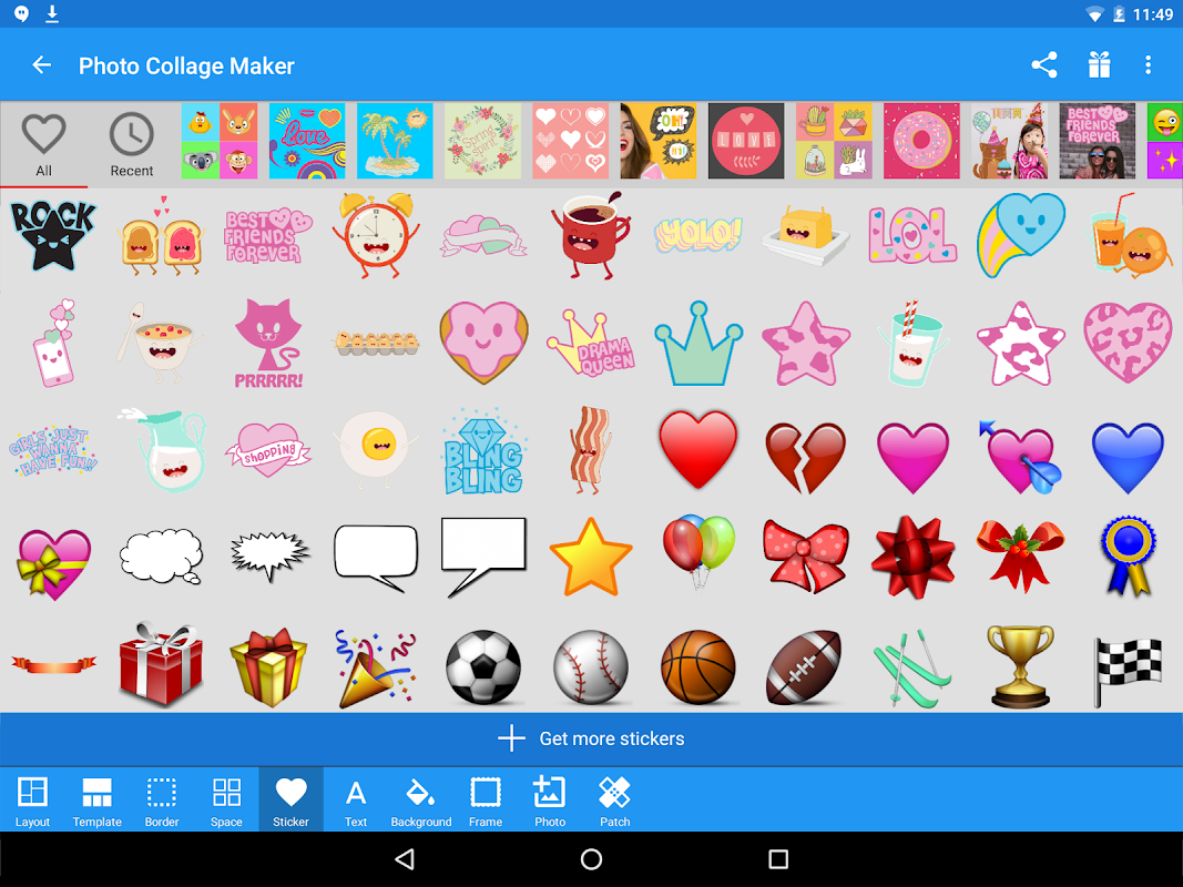 Android Photo Collage Maker Screen 8