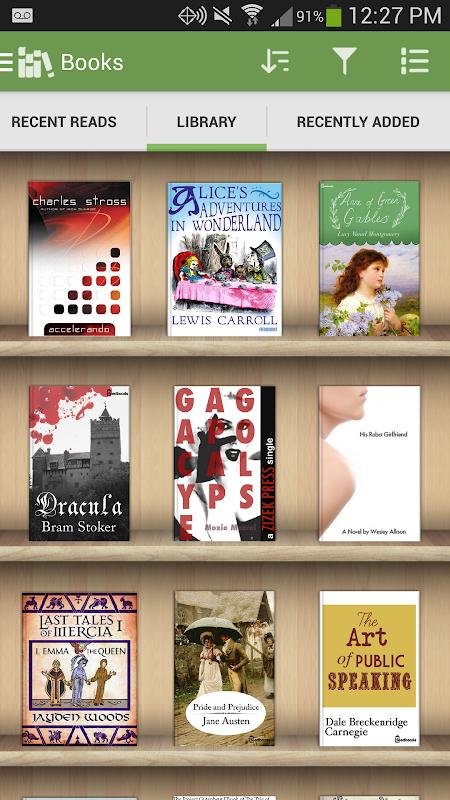 Aldiko Book Reader 3.1.3 Screen 5