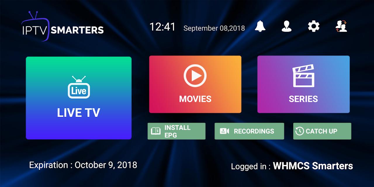 IPTV Smarters Pro 1.6.9 Screen 3
