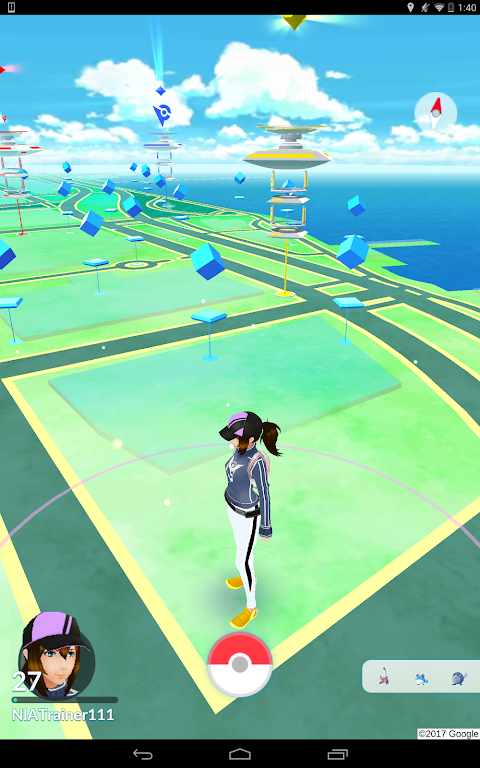 Pokémon GO 0.109.2 Screen 1