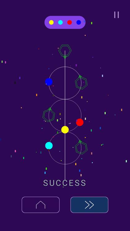 Android Galaxy Balls Screen 3