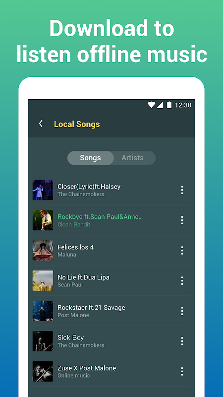 Android Free Music Lite - Offline Music Player Screen 5