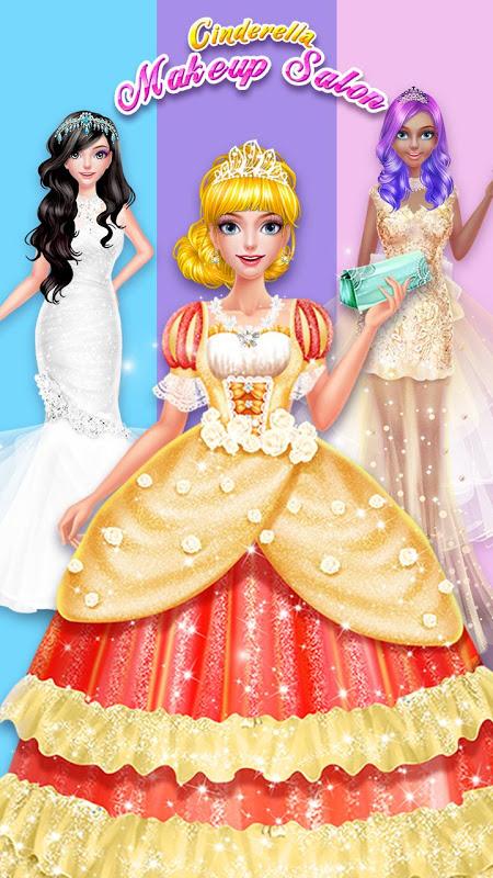 Cinderella Fashion Salon - Makeup & Dress Up 2.2.3967 Screen 3
