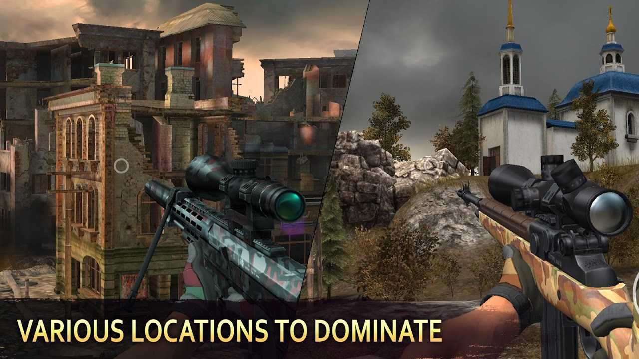 Android Sniper Arena: PvP Army Shooter Screen 4