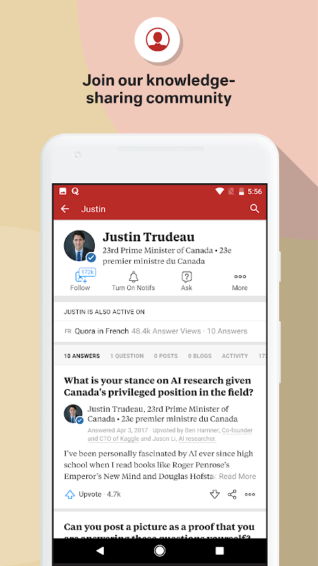 Quora 2.7.17 Screen 5
