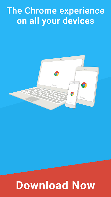 Android Chrome Browser – Google Screen 3