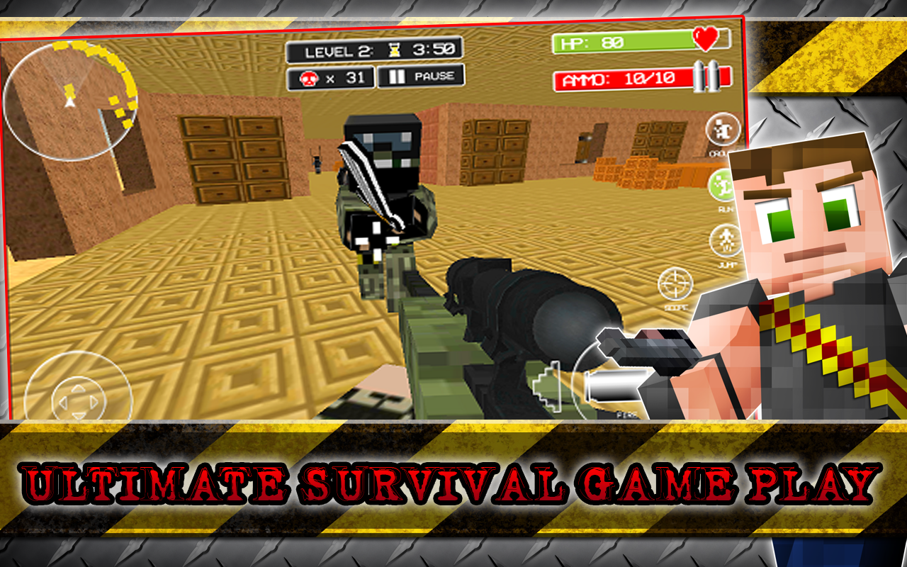 Android Hide N Seek Survival Craft Screen 11