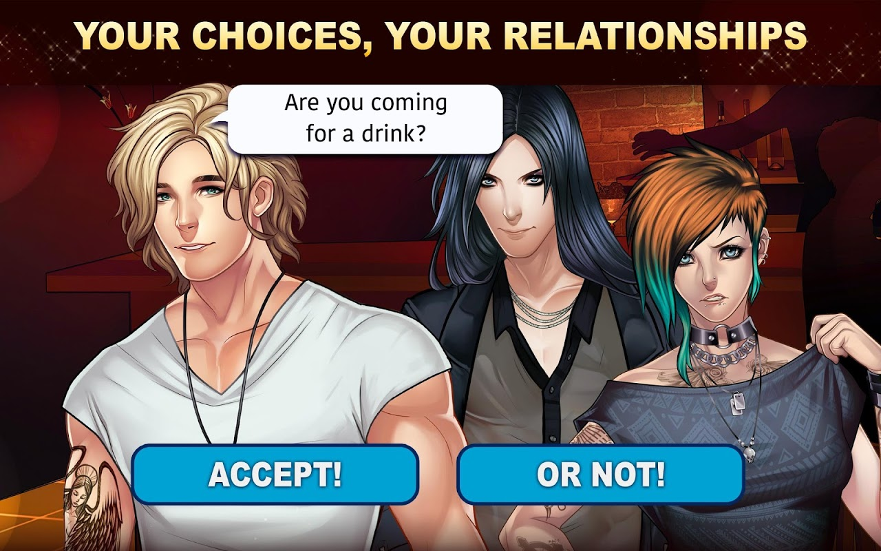 Android Is-it Love? Colin: Choose your story - Love & Rock Screen 4